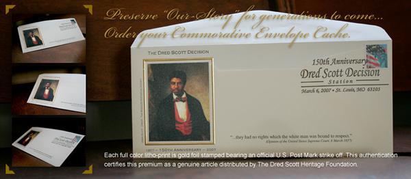 Dred Scott Commemorative Envelop